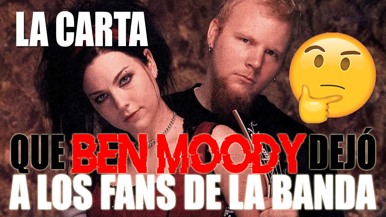 ¿Por qué se fué Ben Moody de Evanescence? ¿Amor o traición? Especial de Amy Lee y Ben Moody.