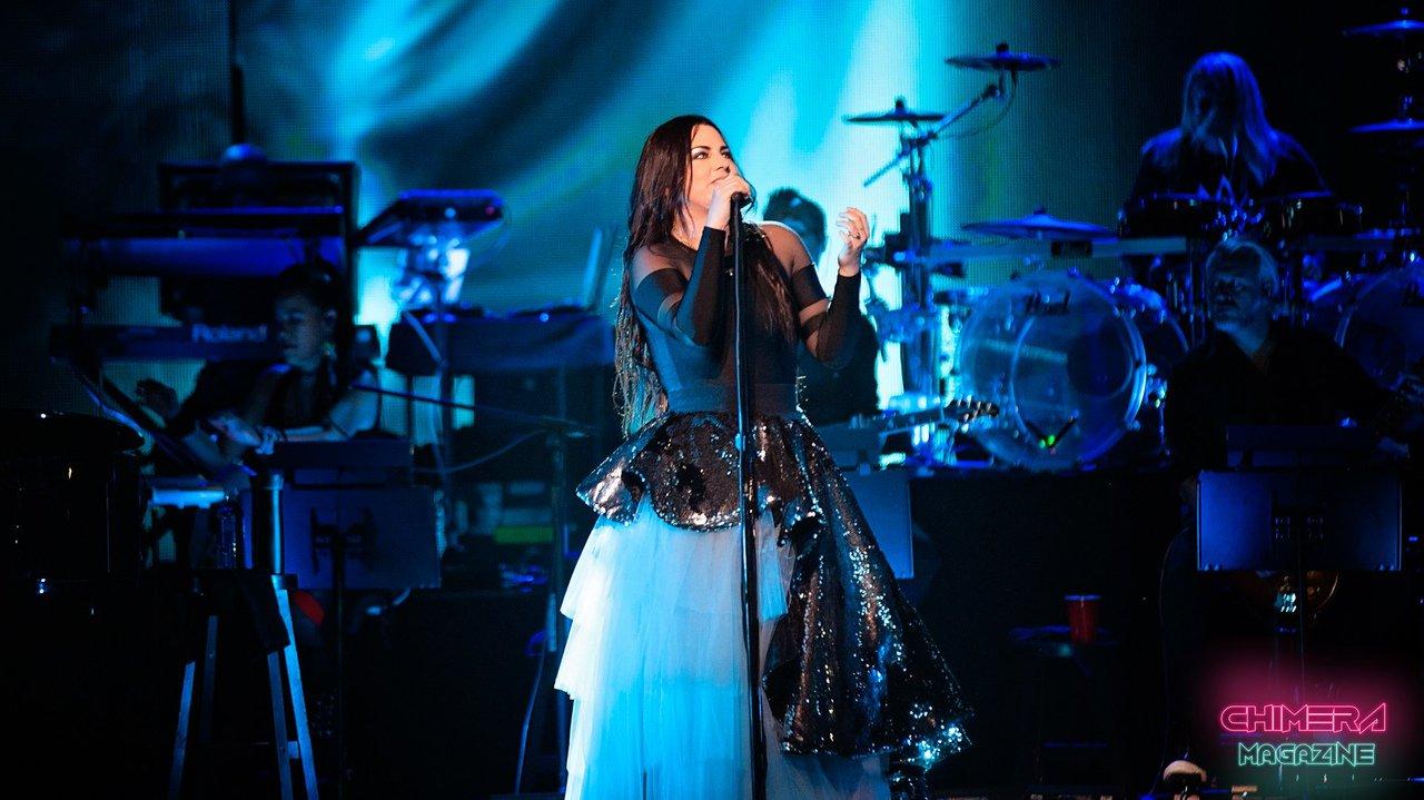 Evanescence saratoga springs 2018