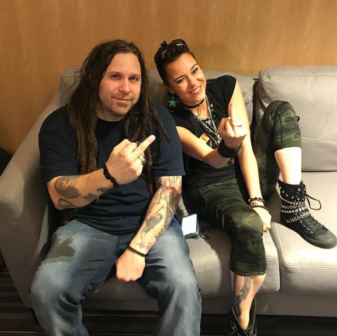 Reencuentro de Evanescence con Terry Balsamo - Amy Lee 2018