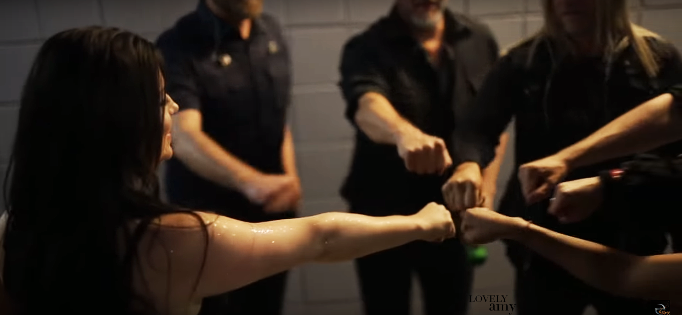 EVANESCENCE SYNTHESIS BACKSTAGE, BEHIND THE SCENES