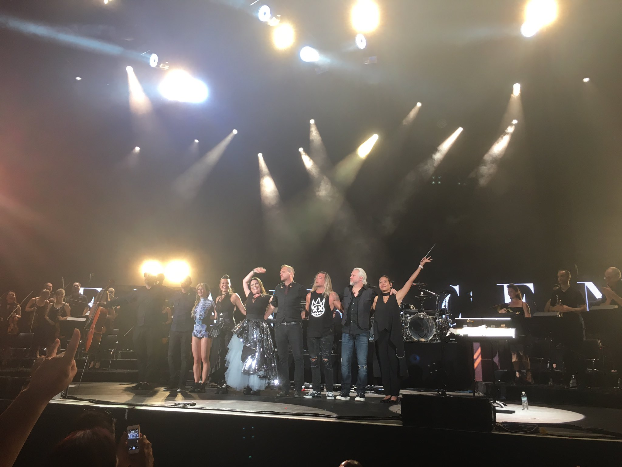 Evanescence west palm beach 2018
