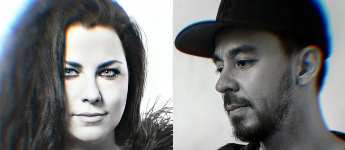 Mike Shinoda from Linkin Park invites Amy Lee to sing in a new Gothic Christmas Song! #Evanescence #AmyLee