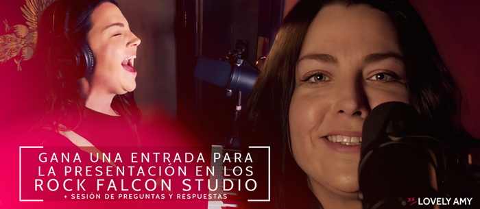 Evanescence Amy Lee - Win a ticket for the rock falcon studio perfonrmance #concurso #contest #giveaway  #Evanescence #AmyLee