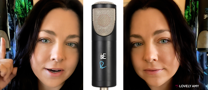 Evanescence Amy Lee - Giveaway from sE Electronics RNT Microphone #Evanescence #AmyLee