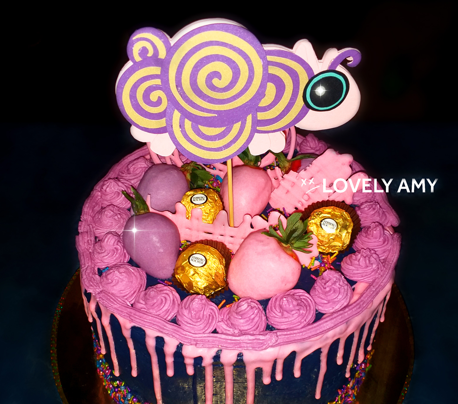 Amy Lee cake - Dream Too Much - Evanescence