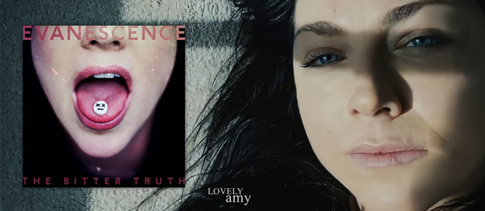 The Bitter Truth y El video de Wasted On You. #Evanescence #AmyLee