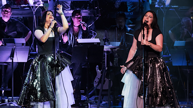 REVIEW: Evanescence Synthesis Live en ravinia chicago 2018 con la participación de Lindsey Stirling. Fotos y Videos.